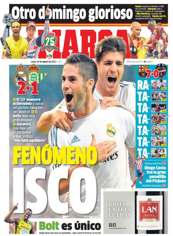 Marca fenomeno isco for Madrid sevilla marca