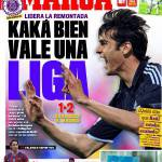 """Marca: """"Kakà vale una Liga"""""""