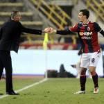 Calciomercato Juventus, Pioli su Gabbiadini: è contento di essere al Bologna