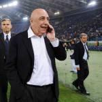 Milan, Galliani prudente sul sorteggio degli ottavi di Champions