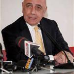 Milan, Galliani: un giorno vorrei commentare le partite dell'Inter in tv come Bergomi…
