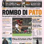 Gazzetta dello Sport: Rombo di Pato