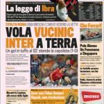Gazzetta dello Sport: Vola Vucinic Inter a terra