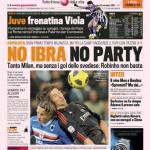 Gazzetta dello Sport: No Ibra no party