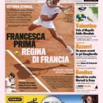 Gazzetta dello Sport: Francesca prima regina di Francia