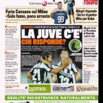 Gazzetta dello Sport: La Juve c'è, chi risponde?
