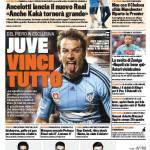 Gazzetta dello Sport: Juve, vinci tutto