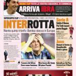 Gazzetta dello Sport: Interrotta