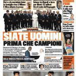 Gazzetta dello Sport: Siate uomini prima che campioni
