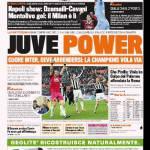 Rassegna Stampa, CorSport, TuttoSport e Gazzetta dello Sport: Juventus show!
