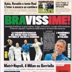 Gazzetta dello Sport: Matri-Napoli, il Milan su Borriello