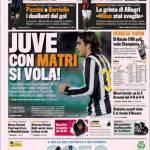 Gazzetta dello Sport: Juve con Matri si Vola!