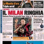 Gazzetta dello Sport: il Milan ringhia