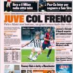 Gazzetta Dello Sport: Juve col freno