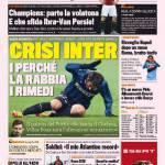 Gazzetta dello Sport, Crisi Inter: i perché, la rabbia, i rimedi
