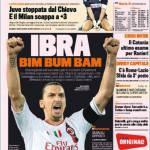 Gazzetta dello Sport: Ibra Bim Bum Bam