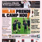 Gazzetta dello Sport: Milan, prendi il Camp Nou!