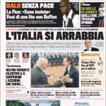 Gazzetta dello Sport: L'Italia si arrabbia