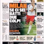 Gazzetta dello Sport: Milan, se ci sei batti un colpo