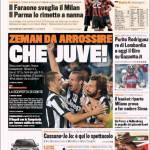 Gazzetta dello Sport: Che Juve, Zeman da arrossire
