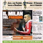Gazzetta dello Sport: Il Milan del Faraone