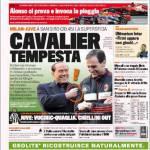 Gazzetta dello Sport: Cavalier Tempesta