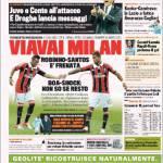 Gazzetta dello Sport: Viavai Milan