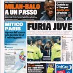Gazzetta dello Sport: Furia Juve