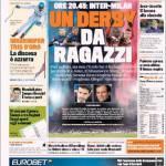 Gazzetta dello Sport: Un derby da ragazzi