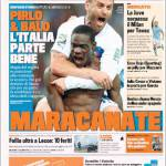 Gazzetta dello Sport: Pirlo e Balo, l'Italia parte bene