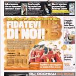 Gazzetta dello Sport incubo biscotto: il messaggio della Spagna, fidatevi di noi