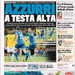 Gazzetta dello Sport: Azzurri a testa alta