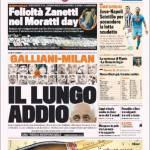 Gazzetta dello Sport: Galliani-Milan, il lungo addio