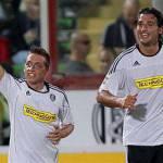 Coppa Italia, Cesena-Novara 1-3