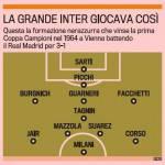 Ecco la formazione della Grande Inter che vinse la Coppa Campioni – Foto