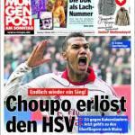 Morgen Post: Choupo redime l'Amburgo