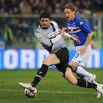 Juventus, infortunio Iaquinta: ecco l'esito degli accertamenti e i tempi di recupero