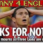 Mondiali 2010: Inghilterra, dopo la disfatta i tabloid si scatenano