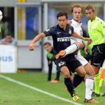 Inter-Genoa 2-0, nella noia spuntano Nagatomo e Palacio: prima importante vittoria per Mazzarri