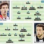 Foto – Juventus, due formazioni per il 2013-2014: un 3-5-2 ed un 4-3-3 con innesti intelligenti
