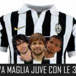 Nuova maglia Juventus con le tre stelle: un'altra fantasiosa proposta dal web – Foto