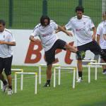 Juventus, 0a0 in amichevole con l'Amburgo