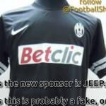 Nuova maglia Juventus 2012-2013: ecco il prototipo per la seconda divisa away – Foto