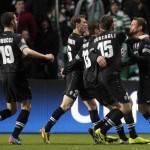 Champions League, Celtic-Juventus 0-3: Matri, Marchisio e Vucinic calano il tris