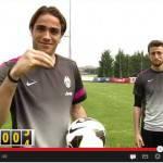 Video – La Juventus festeggia con gli esilaranti Matri e Marchisio i 5.000.000 di fan su Facebook