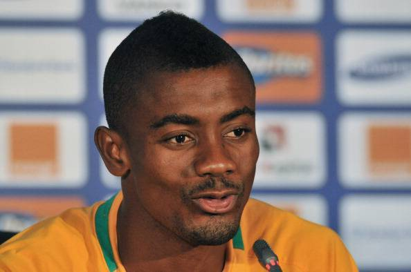 Ivory Coast's attacker Salomon Kalou spe