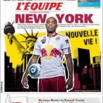 L'Equipe: New York, nuova vita