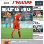 L'Equipe: Ribery all'inferno