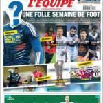 L'Equipe: Una folle settimana di calcio