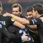 Stoccarda-Lazio, 0-2: prestazione maiuscola dei biancazzurri che chiudono la pratica con Ederson e Onazi